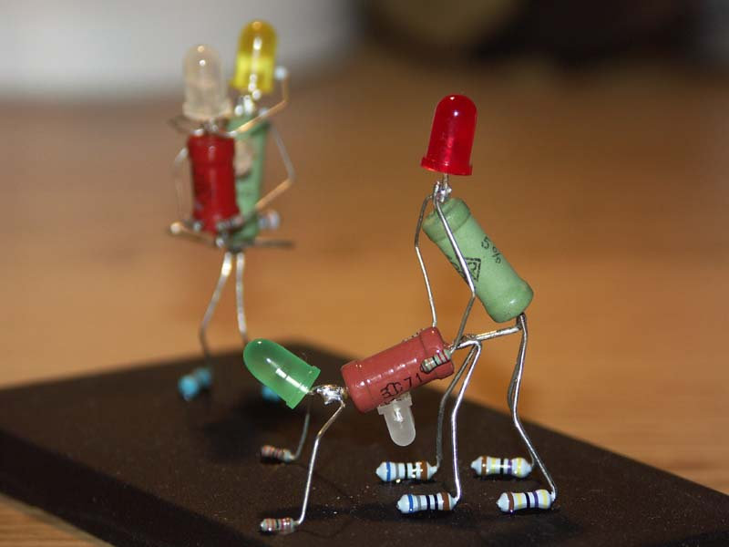 Поделки по электротехнике своими руками